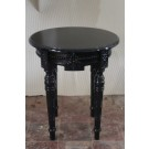 French Side Table Black