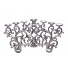 Regency Candelabra 7 Arm - Antique Silver