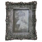 "Photo Frame Antique Look Silver 4"" x 6"""