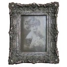 "Photo Frame Antique Look Silver 5"" x 7"""