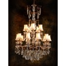 Marie Crystal 6+10 Light Chandelier