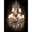 Marie Crystal 3+6 Light Chandelier