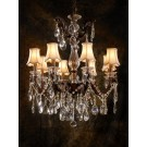Marie Crystal 8 Light Chandelier